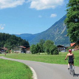 On Two Wheels Through Alpine Germany