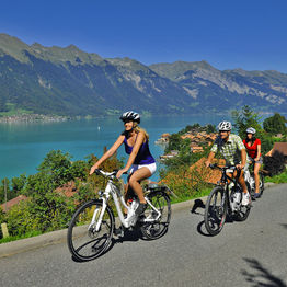 Cycling joy in Switzerland's sublime heart